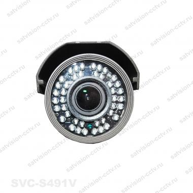 Уличная AHD видеокамера SVС-S491V 1.3 Мп варифокал