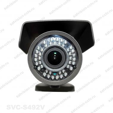 Уличная AHD видеокамера SVС-S492V 2 Мп варифокал
