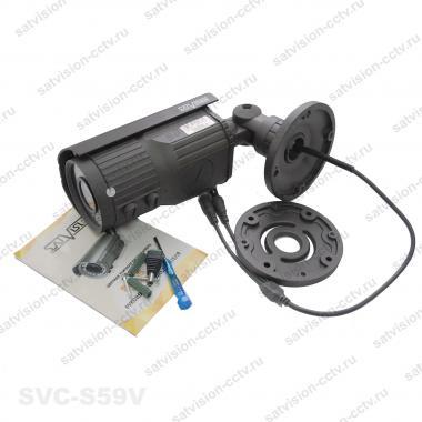 Уличная AHD видеокамера SVC-S59V 1 Мп варифокал
