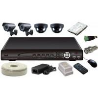 Комплект видеонаблюдения SATVISION Полный