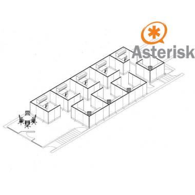 Сервер IP телефонии Asterisk Business