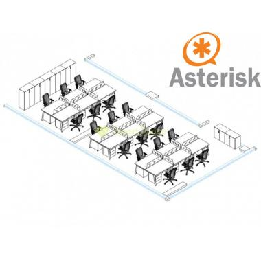 Сервер IP телефонии Asterisk Office