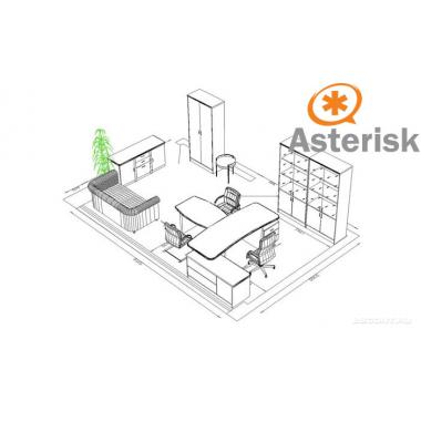 Сервер IP телефонии Asterisk Small