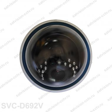 Купольная AHD видеокамера SVС-D692V 2 Мп варифокал