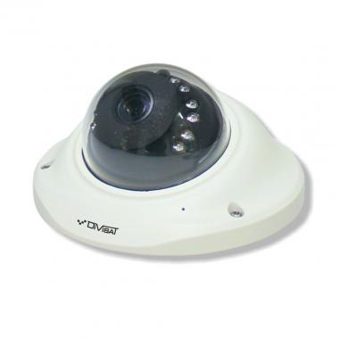 Антивандальная купольная WiFi  IP видеокамера DVI-D221F 2 Мп Fisheye