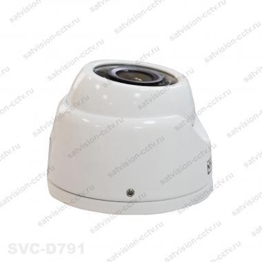 Антивандальная купольная AHD видеокамера SVC-D791 1.3 Мп